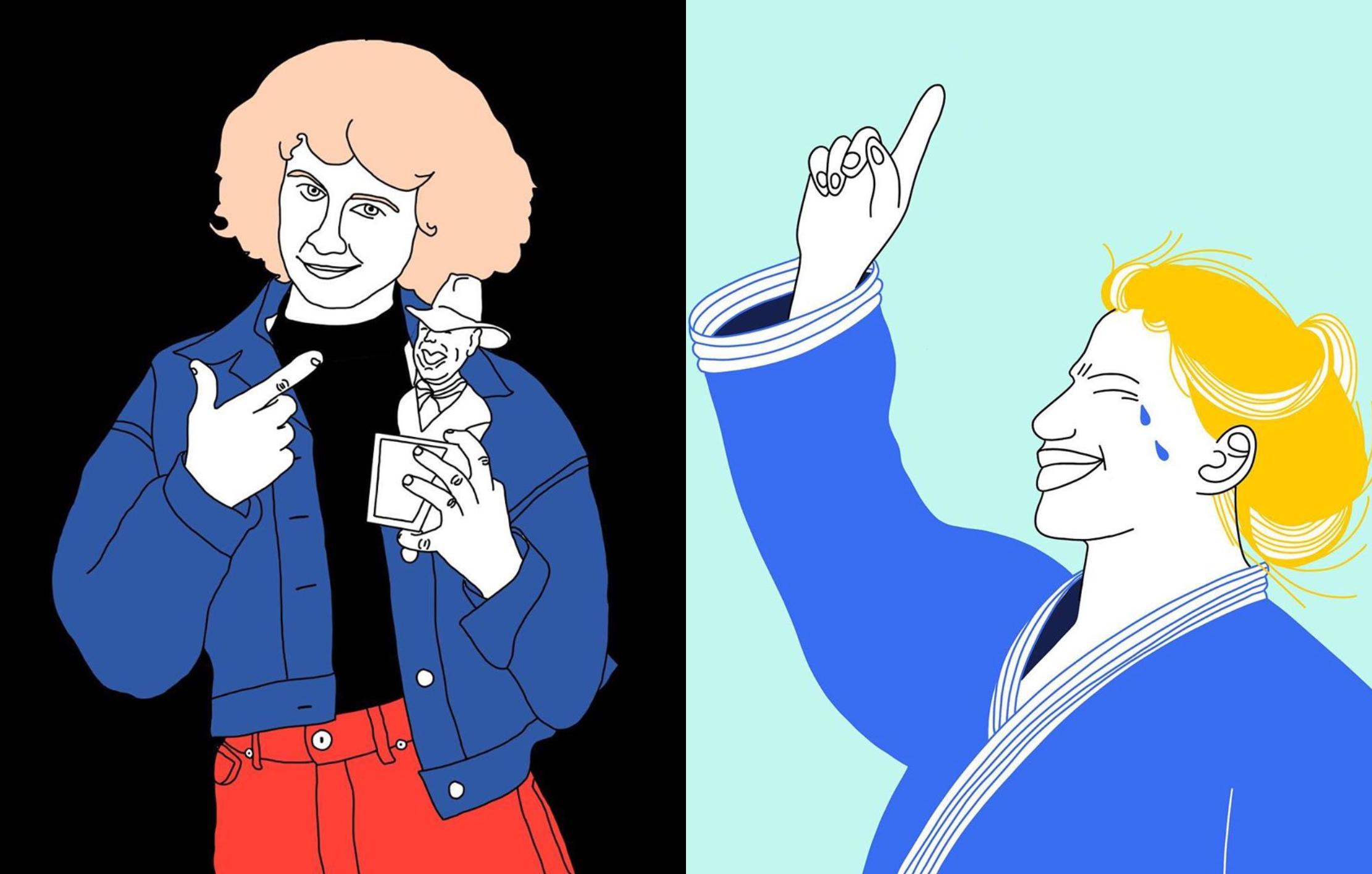 Un homenaje ilustrado a las primeras mujeres en romper el techo de cristal