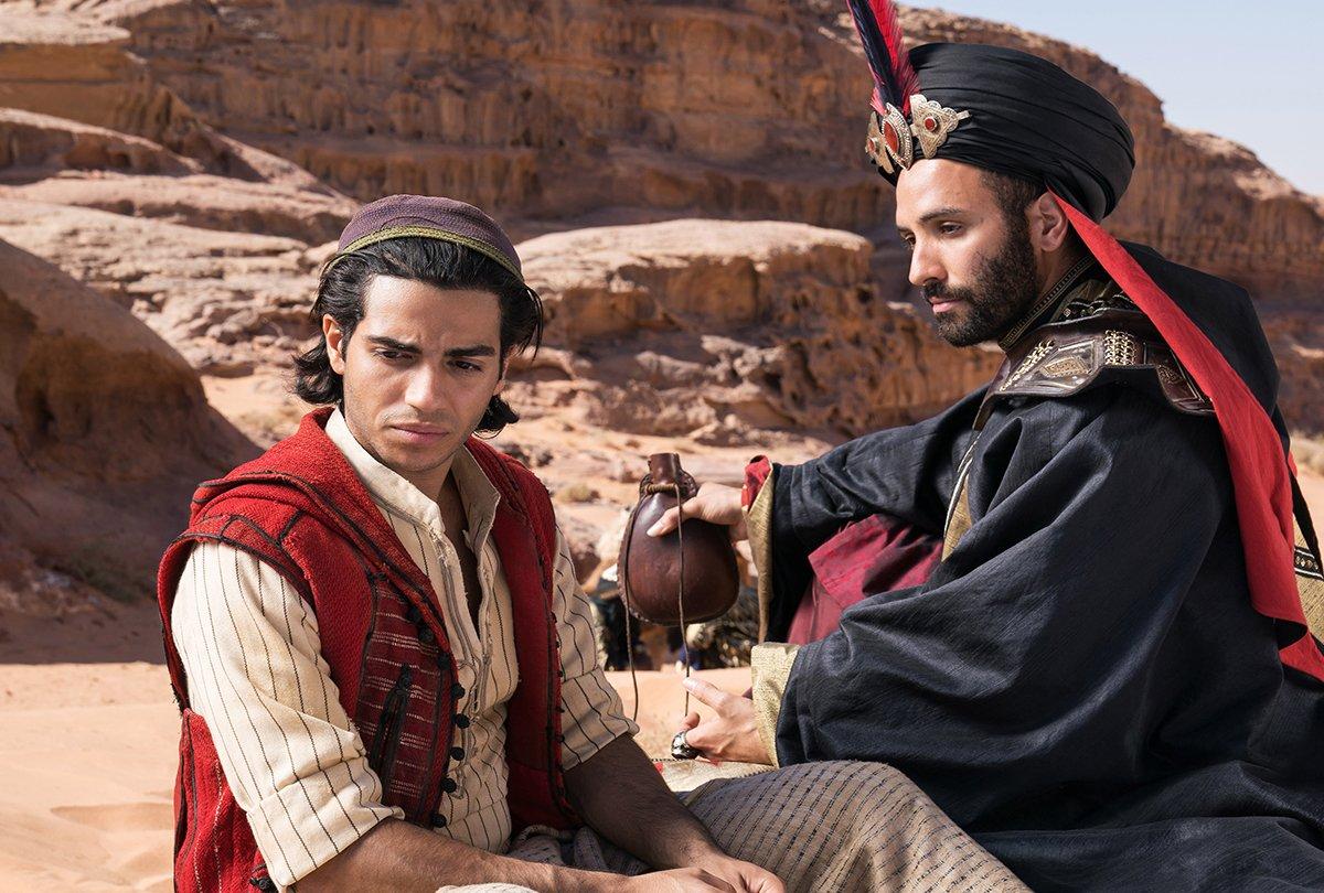 El actor Mena Massoud no ha conseguido ninguna audición desde 'Aladdin'
