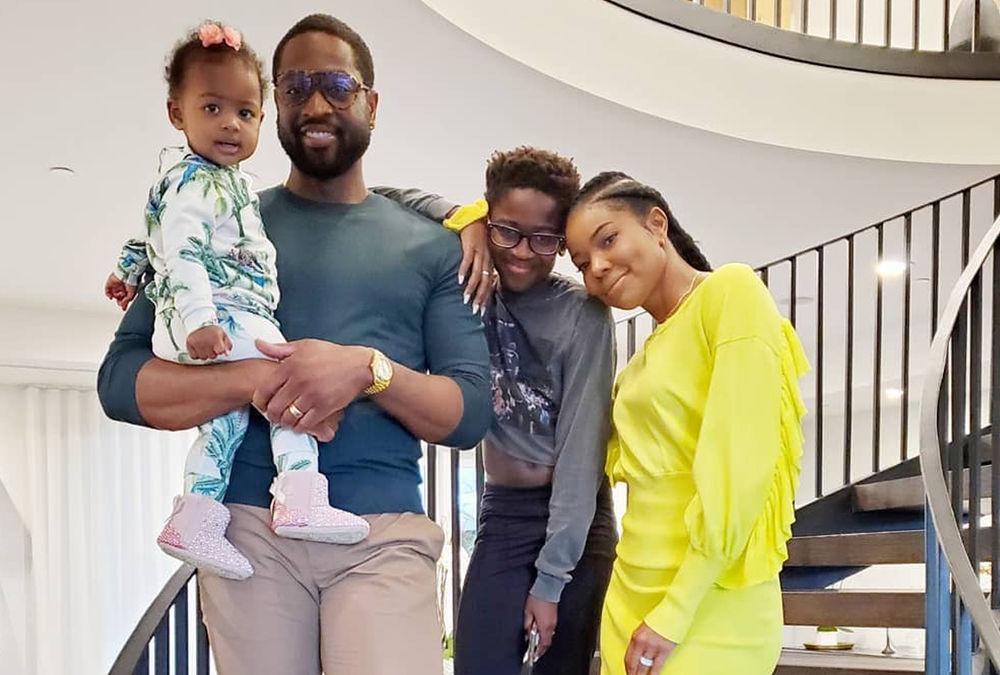 Dwyane Wade defiende a su hijo de las críticas por llevar un top y uñas postizas