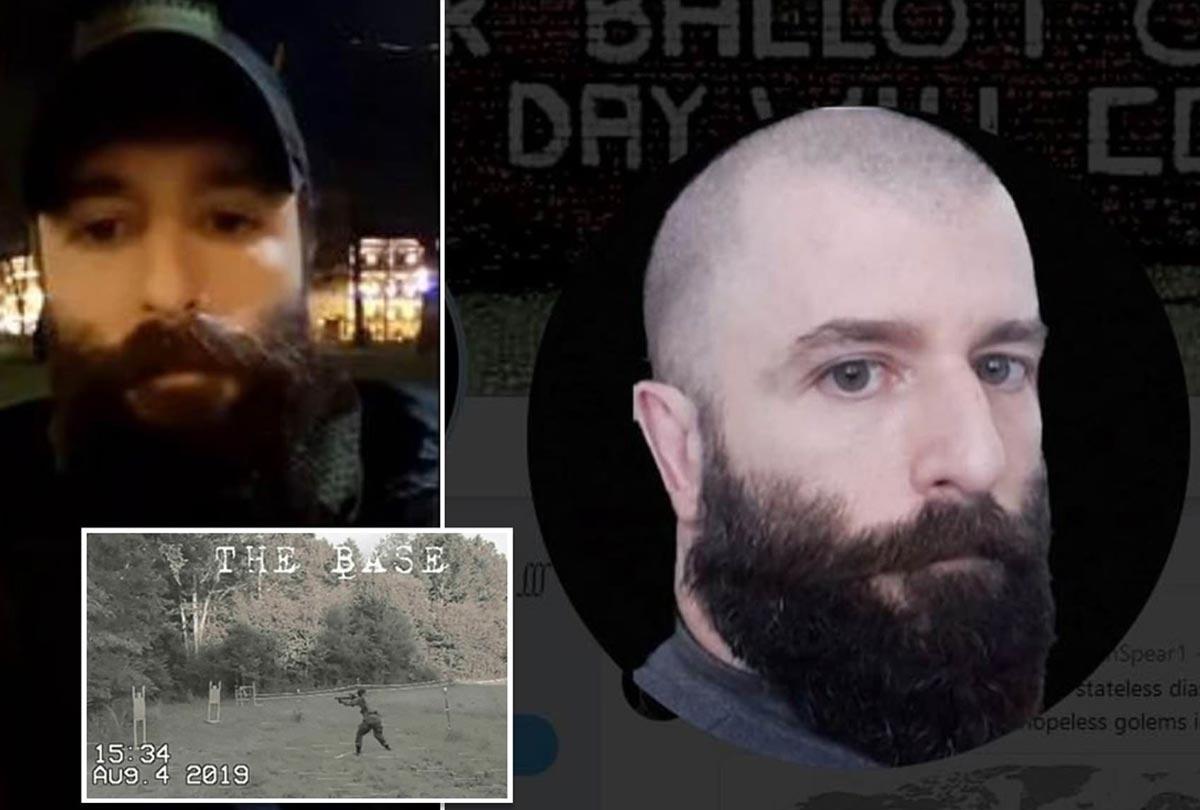Destapan la verdadera identidad del líder del peligroso grupo neonazi 'The Base'