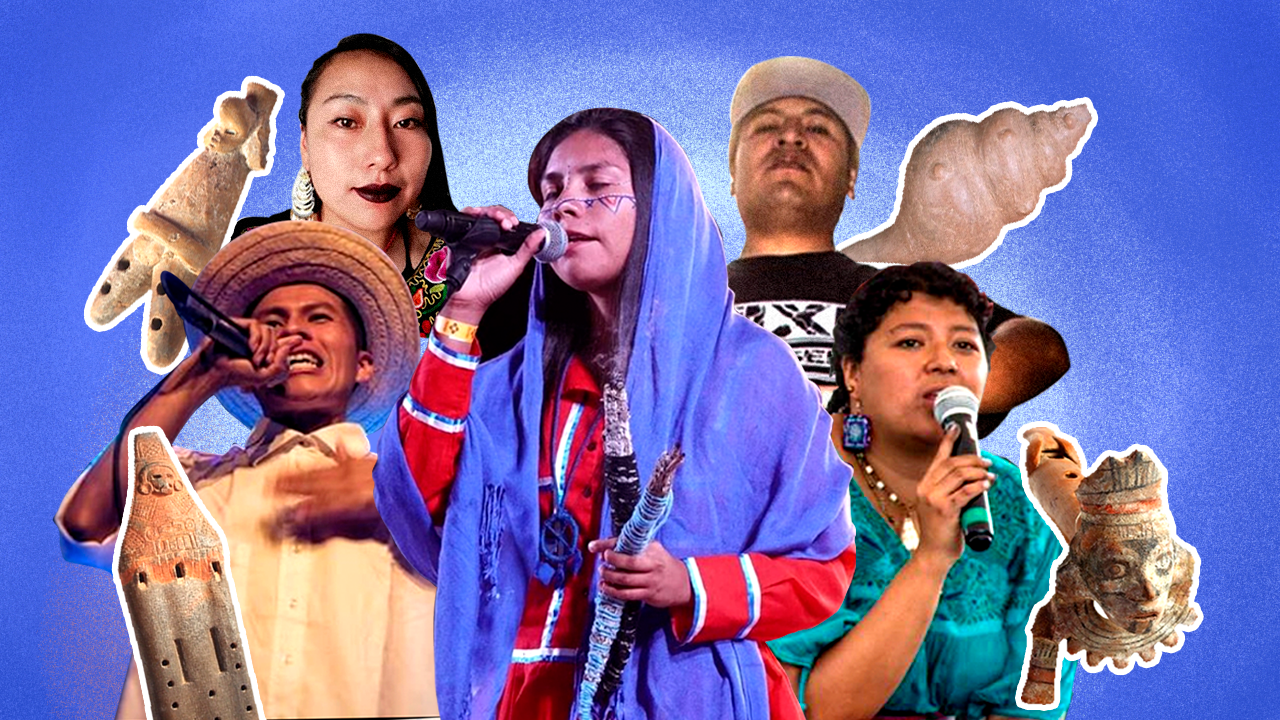 Raperos indígenas: la diversidad de México hecha rimas