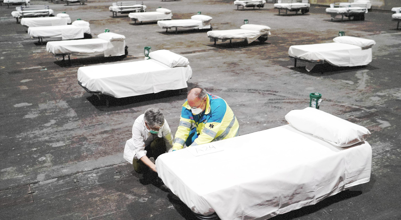 Cómo se prioriza en los hospitales ante la pandemia del coronavirus