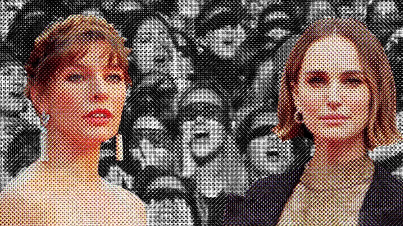 Actrices de Hollywood defienden a las creadoras de 'Un violador en tu camino', denunciadas por la policía