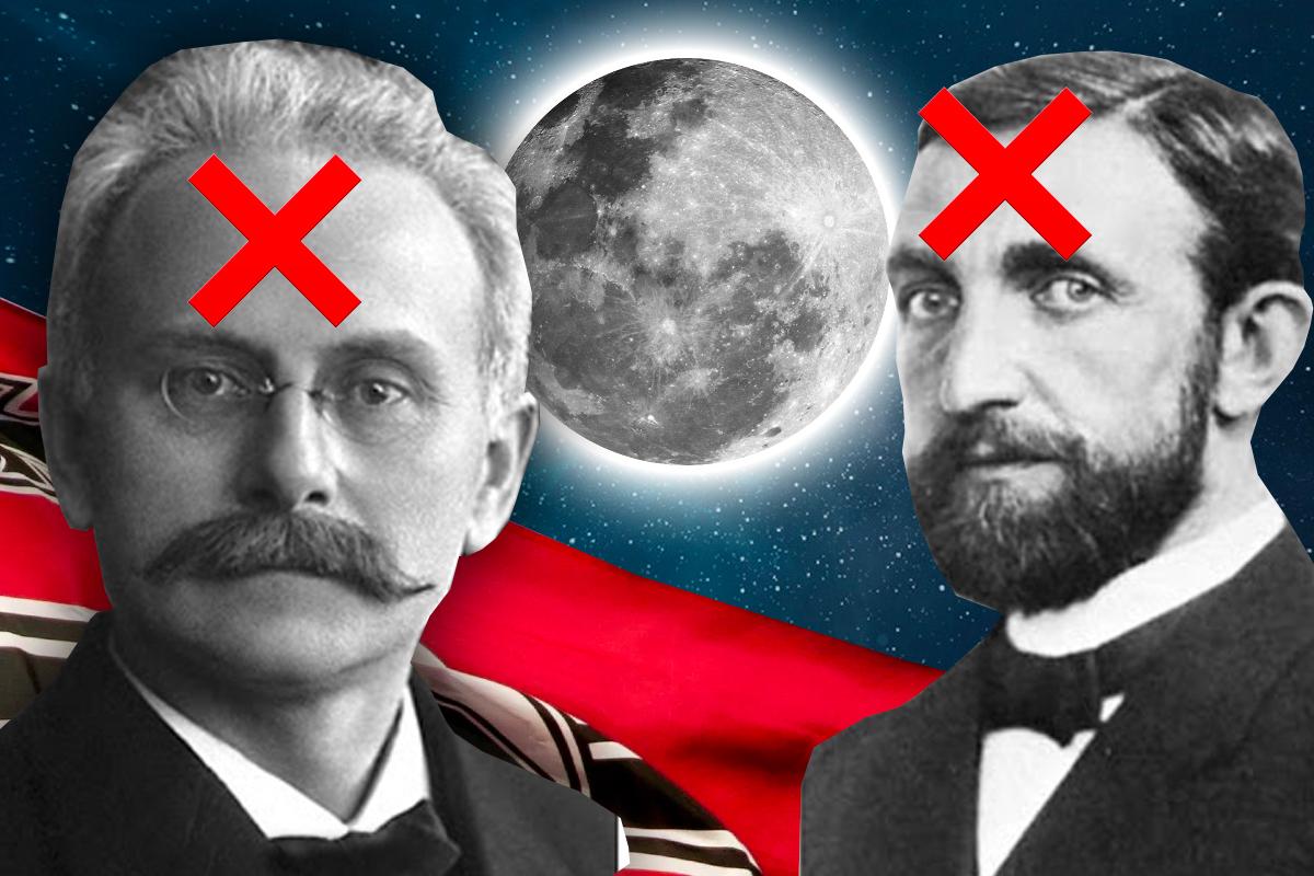 Dos científicos nazis perderán sus cráteres honoríficos en la cara oculta de la Luna