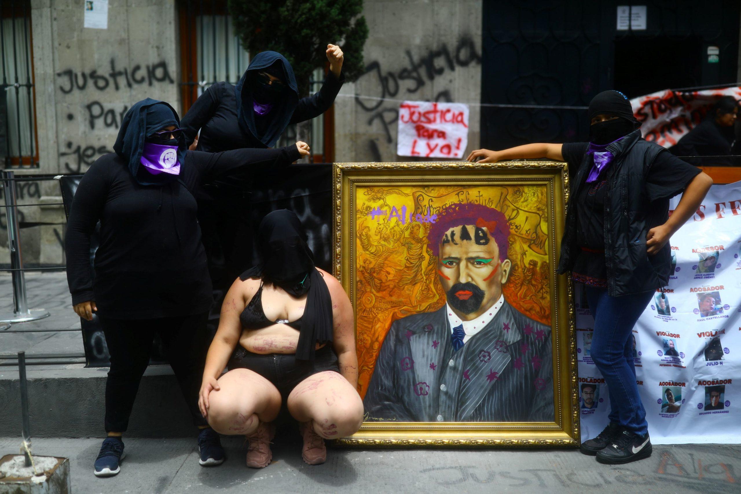 PlayGround_FeministasMexicanasComisiónDerechosHumanos_ViolenciaGénero