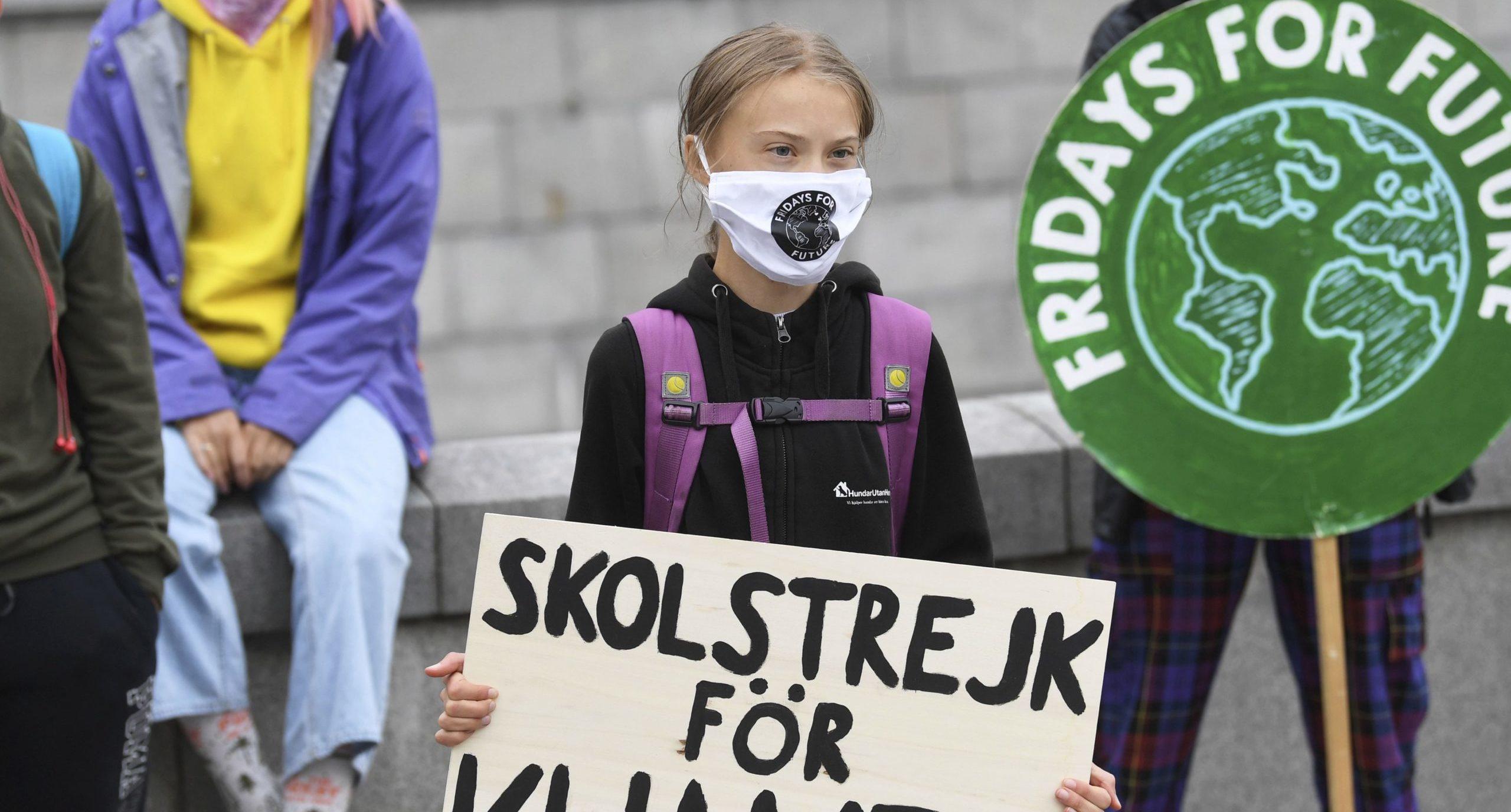 Greta Thunberg convoca a una nueva protesta mundial contra el cambio climático