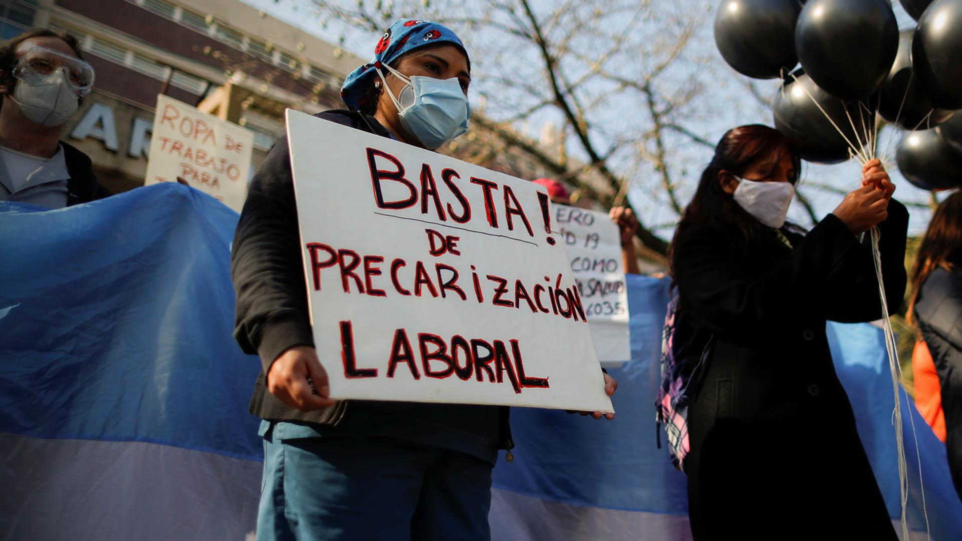 El sistema sanitario argentino está al borde del colapso por Covid, alertan médicos