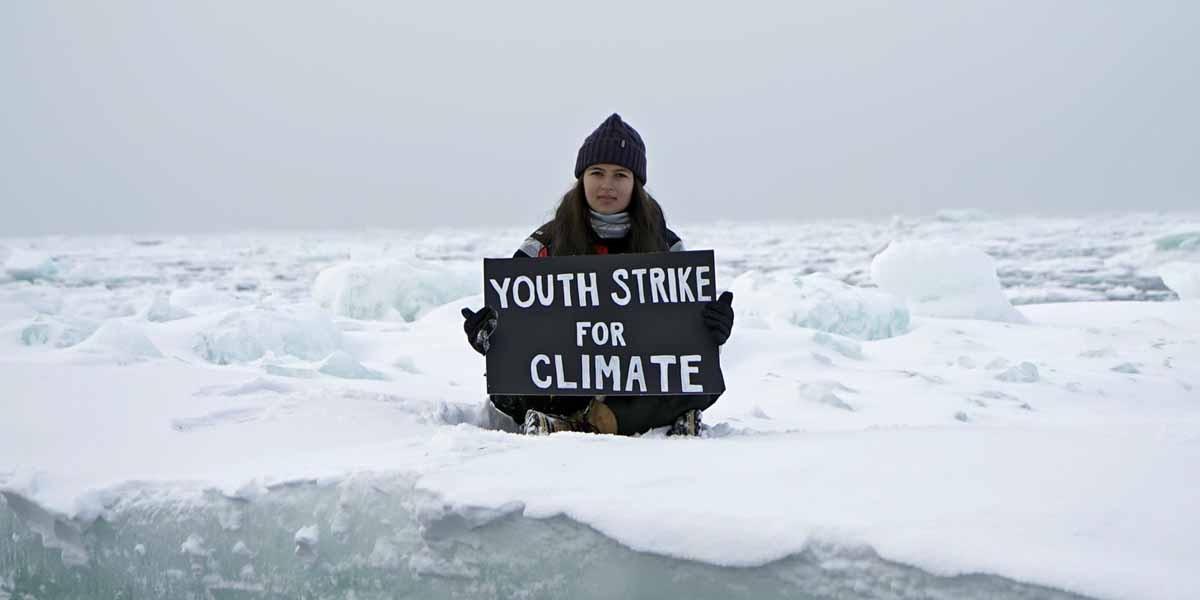 Mya-Rose, la chica que protesta en el Ártico contra la crisis climática