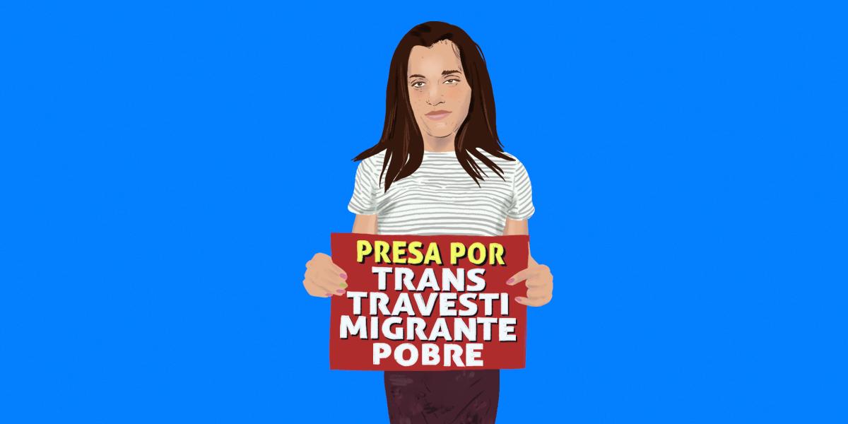 Piden absolución para mujer trans argentina encarcelada sin pruebas de haber cometido un crimen
