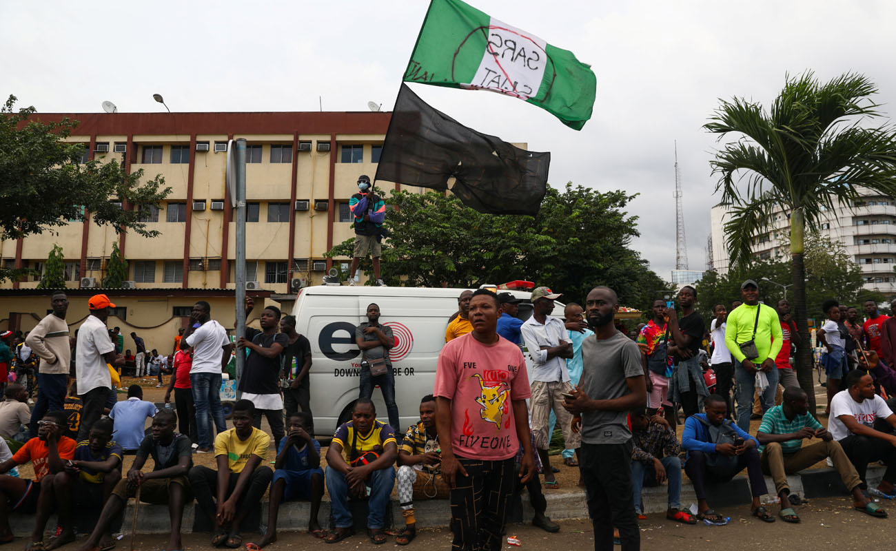 La brutal represión en Nigeria cobra decenas de vidas