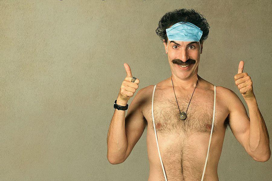 Sacha Baron Cohen, en la piel del personaje