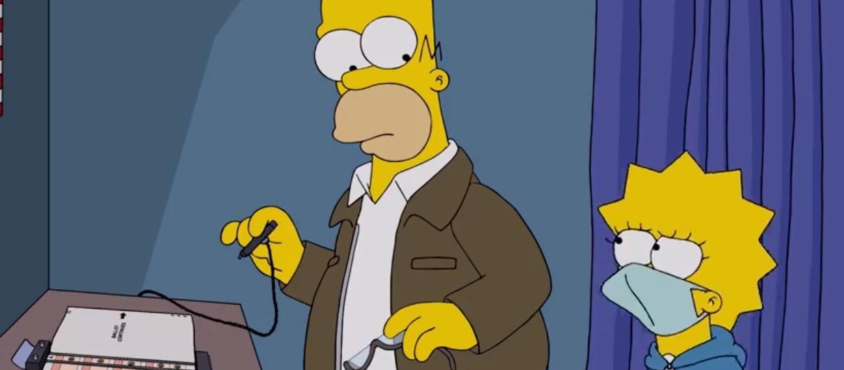 Las 50 razones de Lisa Simpson para no votar por Donald Trump