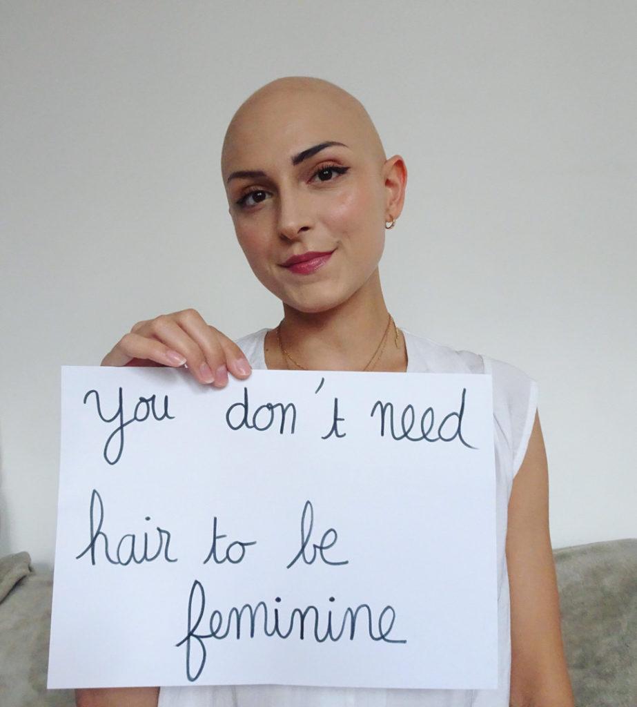 PlayGround entrevista testimonio mujer alopecia