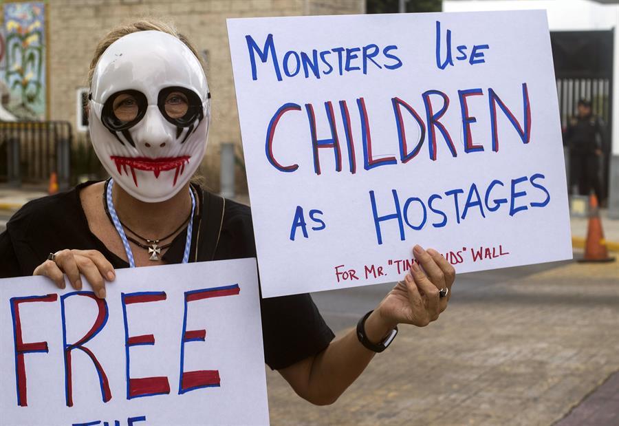 Separación familias México EEUU Trump Elecciones 2020