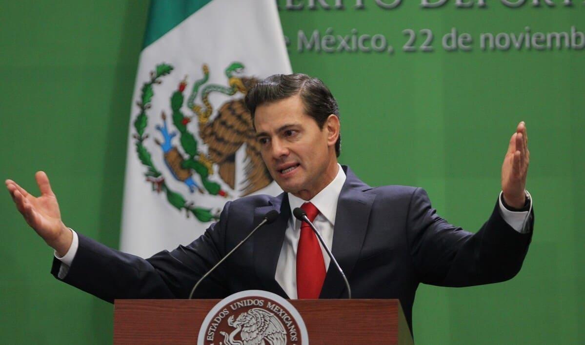 El expresidente mexicano Peña Nieto es acusado de traición a la patria por casos de corrupción