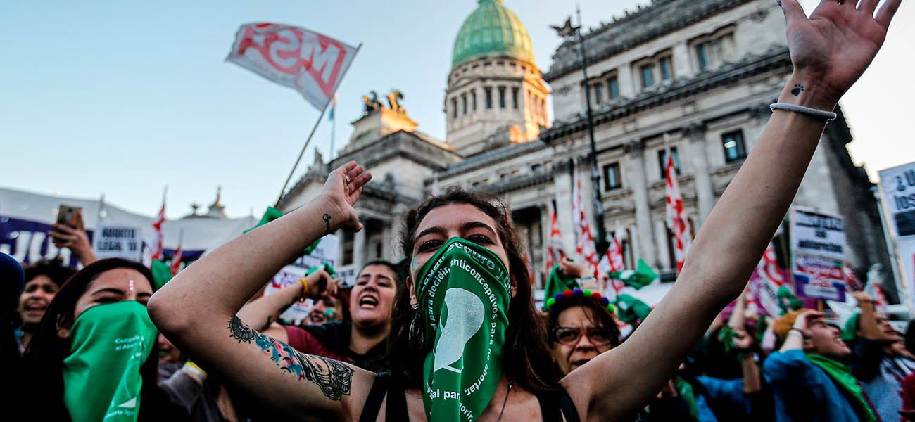 El presidente de Argentina impulsa la legalización del aborto ✊💚 ¿#SeráLey?