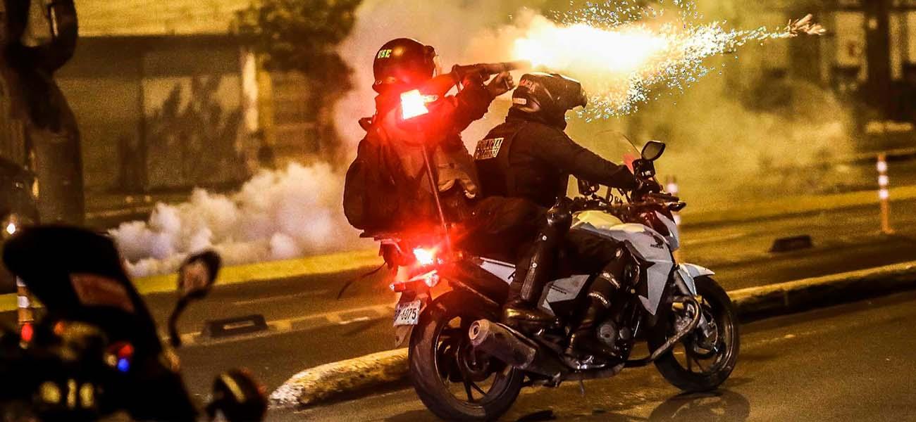 Protestas y represión en Perú, luego de la destitución del presidente Martín Vizcarra