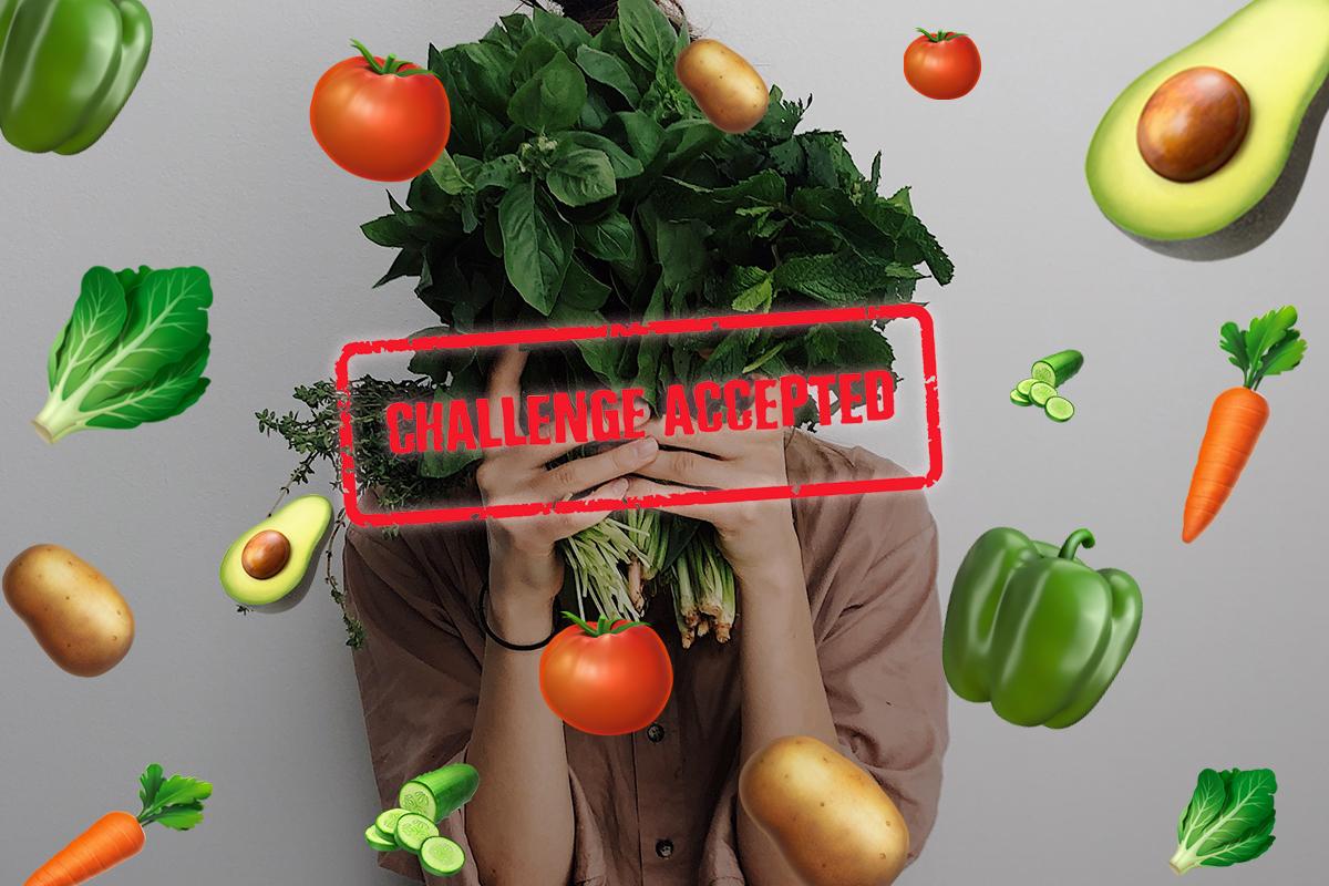 Un número récord de personas se unen al reto de comer vegano en enero. ¿Tú también? 🥑