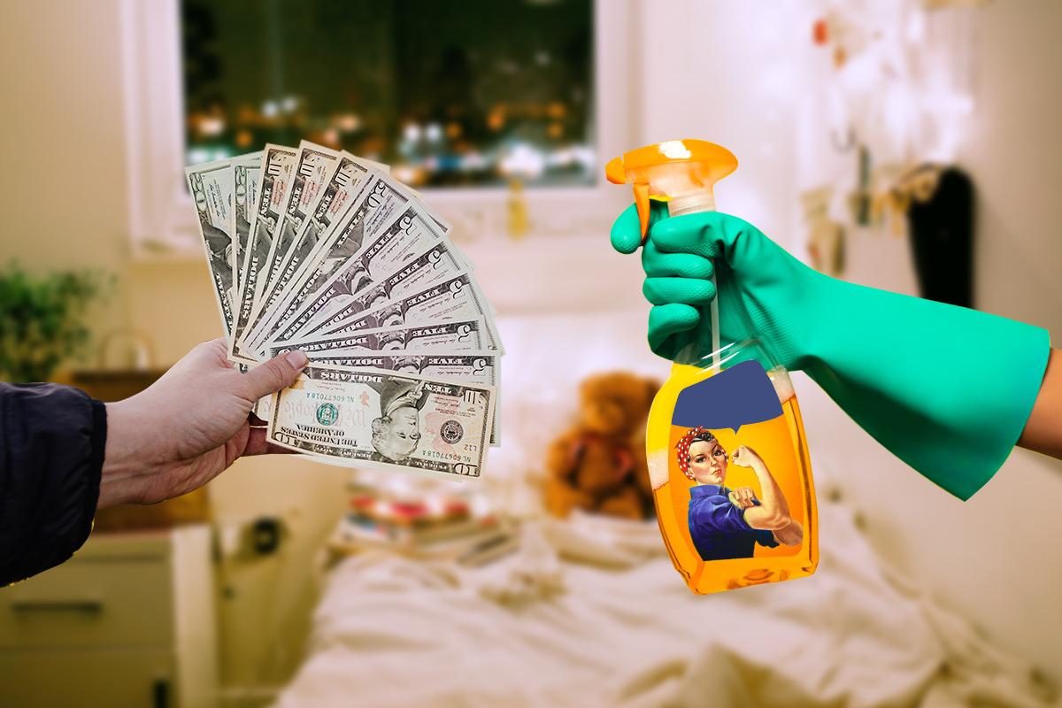 Una mujer logró que su ex la compensara con 8 mil USD por tareas domésticas