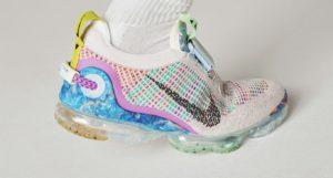 Estas zapatillas están hechas de basura