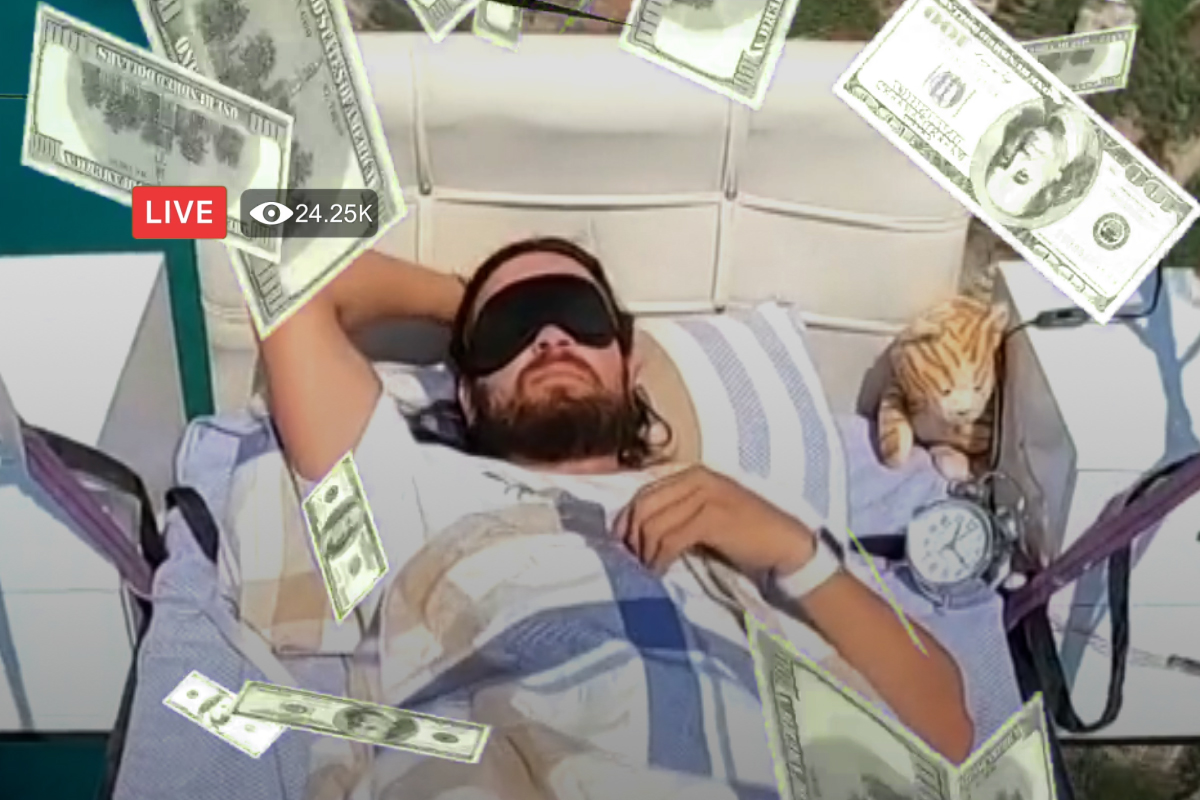 Este trabajo sí te interesa: hay gente ganando miles de dólares por dormir 🤤