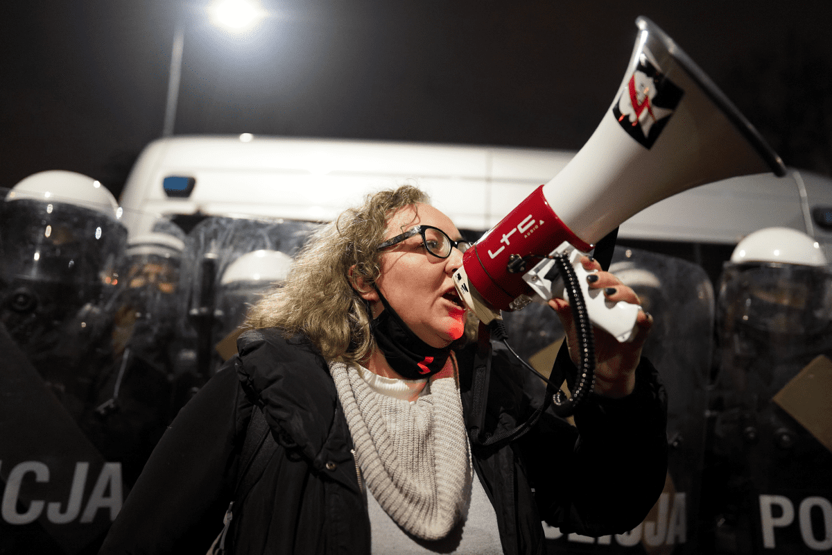Defendió el aborto como un derecho humano✊💚 y ahora podría enfrentar hasta 8 años de cárcel