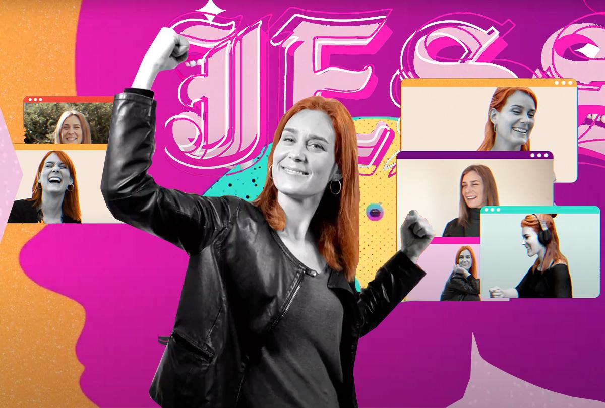 La música urbana se cuela en campaña para dar su apoyo a Jessica Albiach