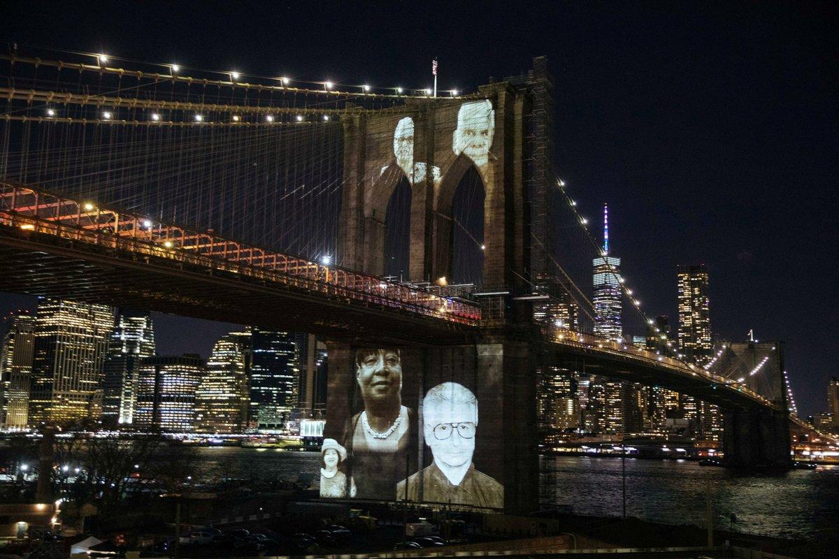 Nueva York rinde un homenaje a sus residentes fallecidos por Covid-19