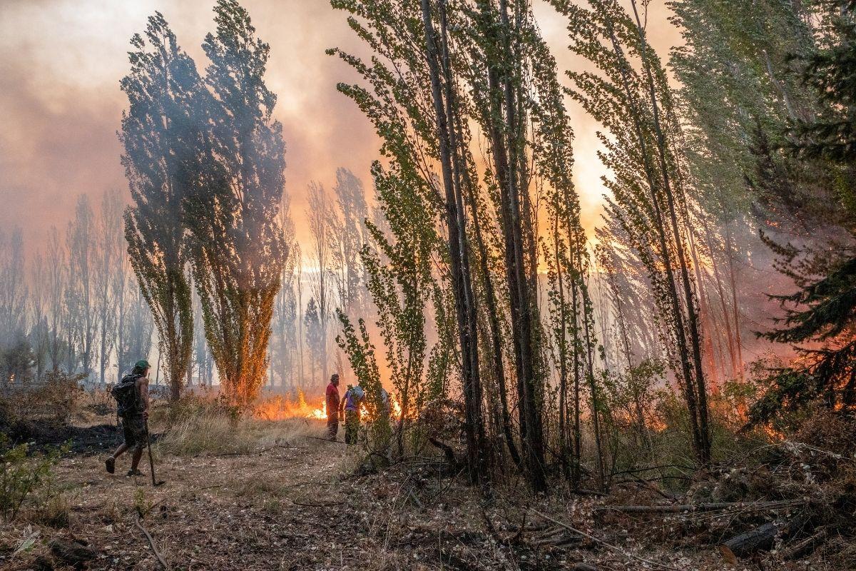 El sur de Argentina arde mientras peritos intentan descifrar el origen de los incendios
