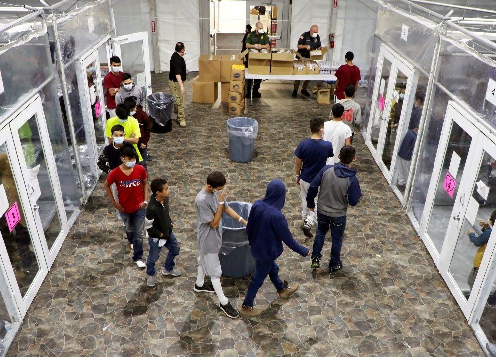 Centros de detención de menores en Estados Unidos